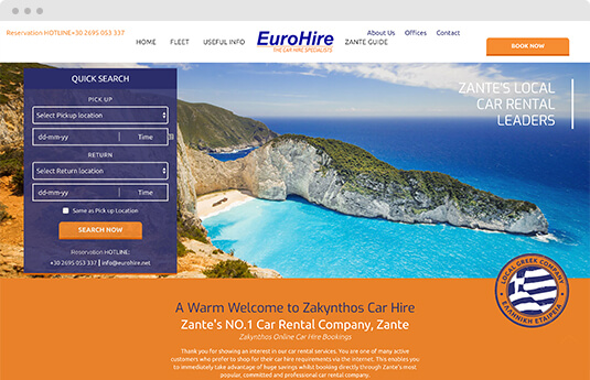 gocars online eurohire